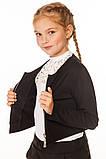 Стильный Школьный Жакет для девочек 134-152р, фото 3