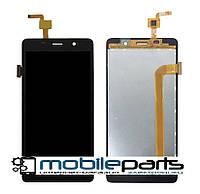 Оригинальный Дисплей (Модуль) + Сенсор (Тачскрин) для S-TELL M511 (Черный)