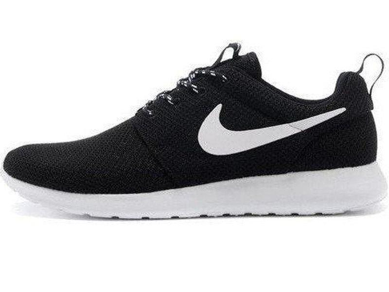 a6f5d2ad Мужские кроссовки Nike Roshe Run Black/White - FREE CHOICE -  ИНТЕРНЕТ-МАГАЗИН ОБУВИ