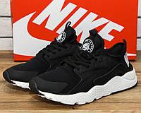 3821efca Кроссовки мужские Nike Huarache 10961 найк найки хуарачи черные обувь  Реплика