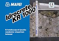 Кристаллизующая добавка для водонепроникного бетону Idrocrete KR 1000.20 кг. Mapei.