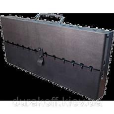 Раскладной мангал чемодан на 10 шампуров 2мм, фото 2