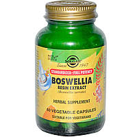 Босвелия (Boswellia Resin Extract), Solgar, 60 капсул