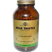 Расторопша, Solgar (Milk Thistle), 250 капсул