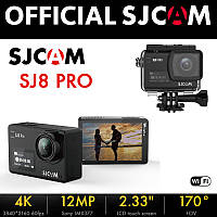 Экшн камера SJCAM SJ8 Pro (4k 60 fps) - black