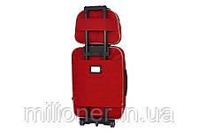Комплект чемодан + кейс Bonro Style (большой) красный, фото 2