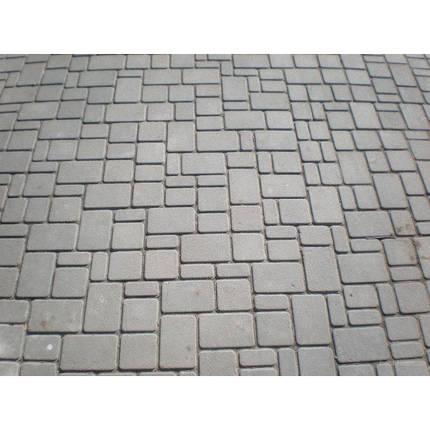Тротуарная плитка «Старый город» 60/90/120/180х120 высота 40мм серая, фото 2
