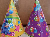 Колпачек на день рождения объем 13см*высота 20 см