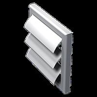 Вытяжная вентиляционная решетка с гравитационными жалюзи МВ 120 Ж