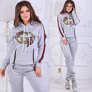 Женский теплый спортивный костюм №29-835