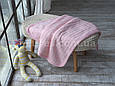 Плед дитячий в'язаний 80x110 BETIRES LOVELY PINK (100% акрил) рожевий, фото 3