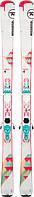 Горные лыжи ROSSIGNOL FAMOUS 4 + крепления Xpress W 10 B83 White Turquoise, фото 1