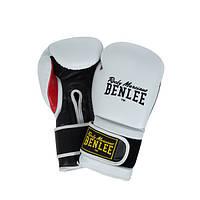 Боксерские перчатки BENLEE SUGAR DELUXE white-blk