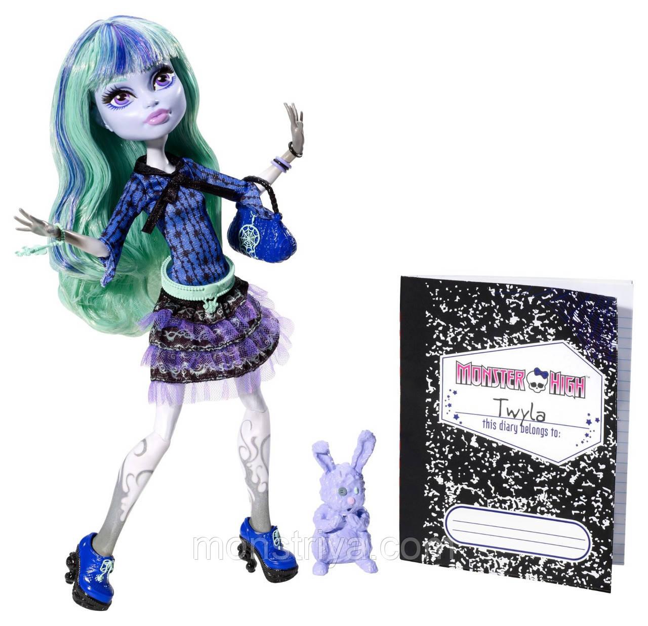 Кукла Monster High Монстер Хай Твайла 13 желаний 13 Wishes Twyla
