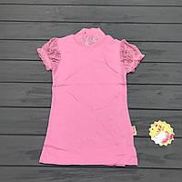 Блуза школьная для девочек оптом р.128 и 140