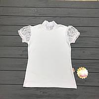 Блуза школьная для девочек оптом р.128-164, фото 1