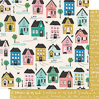 Папір двосторонній - Cottage - Willow Lane - Magie Holmes - 30x30