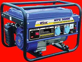 Бензиновый генератор на 2.5 кВт WERK WPG 3000