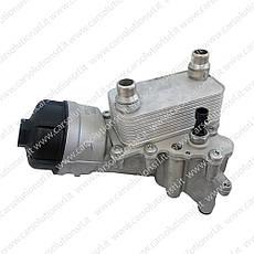 Теплообменник (масляный охладитель) Fiat Doblo 55220558