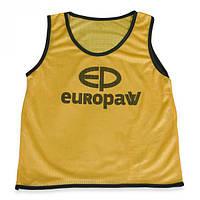 Манишка детская Europaw logo (желтая)