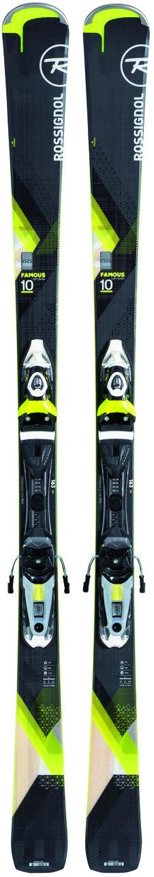 Горные лыжи ROSSIGNOL FAMOUS 10 + крепления Xpress NX 11W Fluid