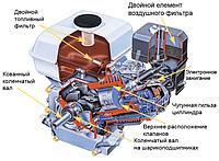 Запчасти для бензиновых двигателей Honda, Weima, 168f, 170f, 177f, 188f, Sadko,Forte, Iron Angel