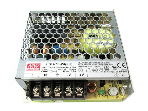 Источник питания LRS-75-12 12вольт 75вт IP20 8780