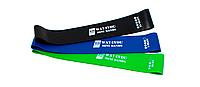 Ленты сопротивления комплект / Резина для фитнеса / Резиновые петли /mini Bands/ Эспандер (3 шт)