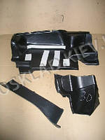 Обивка багажника ВАЗ 2105, Сызрань (3 части) ПЛАСТИК