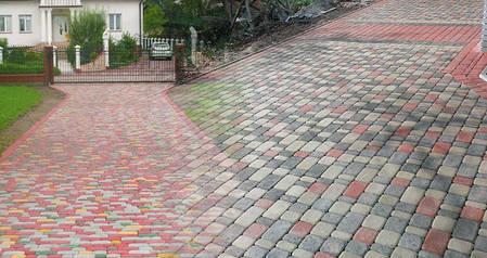 Тротуарная плитка «Старый город» 60/90/120/180х120 высота 60мм цветная, фото 2