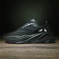 Мужские Кроссовки Adidas Yeezy Boost 700 Black (реплика), фото 1