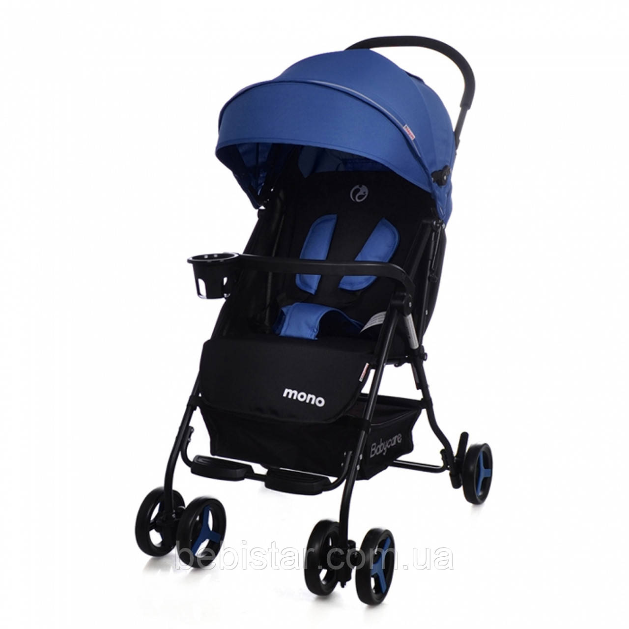 Детская коляска BABYCARE Mono BC-1417 Blue для деток 6 до 36 месяцев