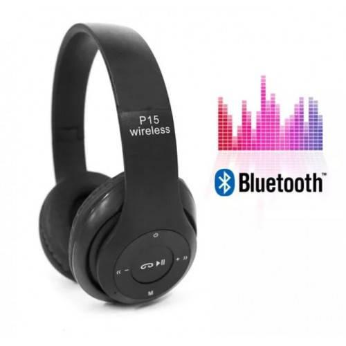 P15 Bluetooth стерео гарнитура MP3, Fm, Aux, Bluetooth