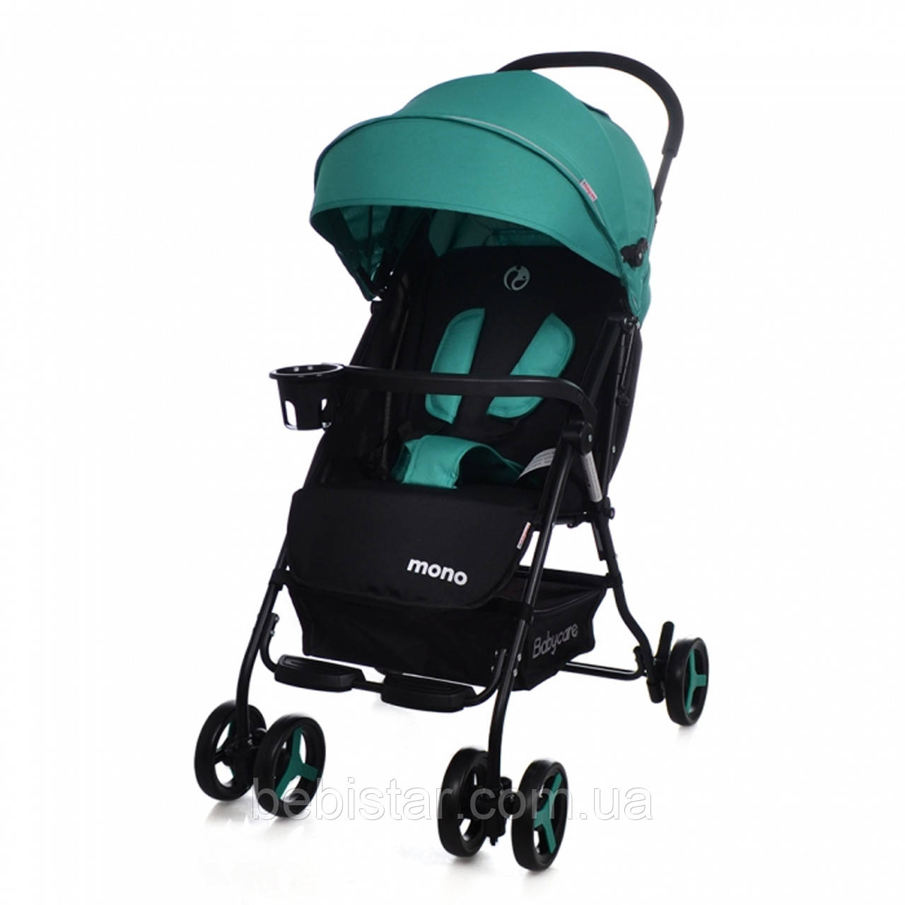 Детская коляска BABYCARE Mono BC-1417 Green для деток 6 до 36 месяцев