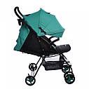 Детская коляска BABYCARE Mono BC-1417 Green для деток 6 до 36 месяцев, фото 2