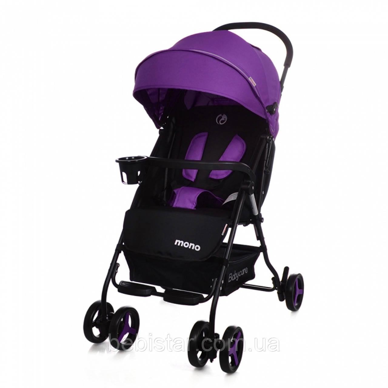 Детская коляска BABYCARE Mono BC-1417  Purple для деток 6 до 36 месяцев