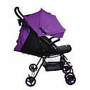 Детская коляска BABYCARE Mono BC-1417  Purple для деток 6 до 36 месяцев, фото 2