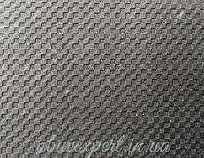 Резина набоечная JB-пласт, Квадрат, 500x500x7 мм, цв. черный