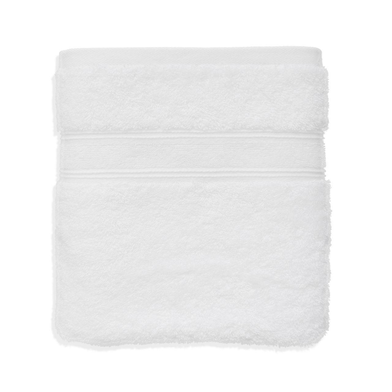 Полотенце махровые хлопковые белые Турция 420 г/м2 Berra