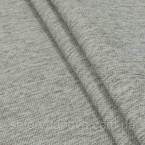 Шеніл для штор сірий