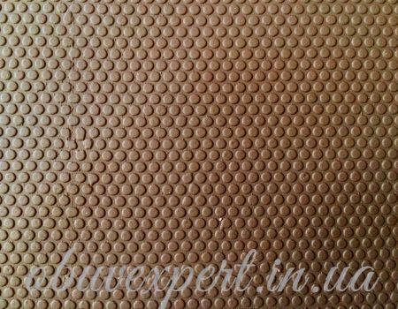 Резина набоечная JB-пласт, Кружок,  500x500x7 мм, цв. коричневый