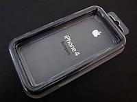 Силиконовый бампер apple iphone 4,4S