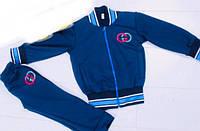 Спортивный костюм детскийдля мальчиков3-8лет, синий