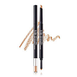 It's Skin Карандаш для бровей Top Professional Dual Coloring Eyebrow 0.3g + 0.5g 03, Светло Коричневый