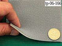 Ткань оригинальная потолочная, серая tp-06-166 на поролоне и сетке шир. 1.55 м, фото 1