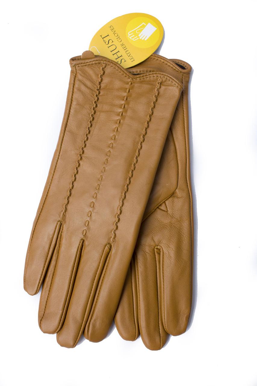 Женские кожаные перчатки 817s2 Средний