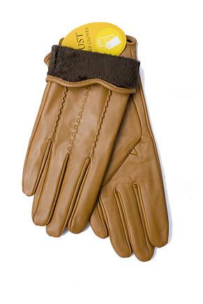 Женские кожаные перчатки 817s2 Средний, фото 3