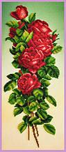 Набор для вышивания бисером Букет красных роз