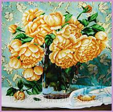 Набор для вышивания бисером Натюрморт с розами
