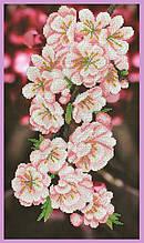 Набор для вышивания бисером Ветка сакуры